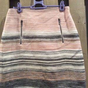 Loft Midi Straight Skirt